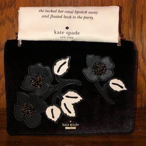 Katie Spade-Cameron St-Embellished Marci-Velvet